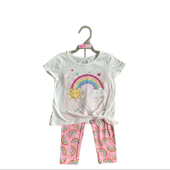 Rainbow 2-Piece Pant Set Size 18-24M